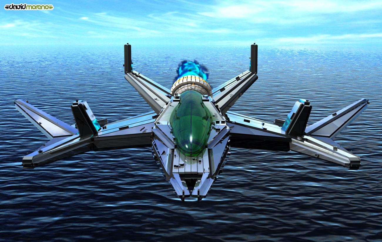 Nave Espacial en 3D