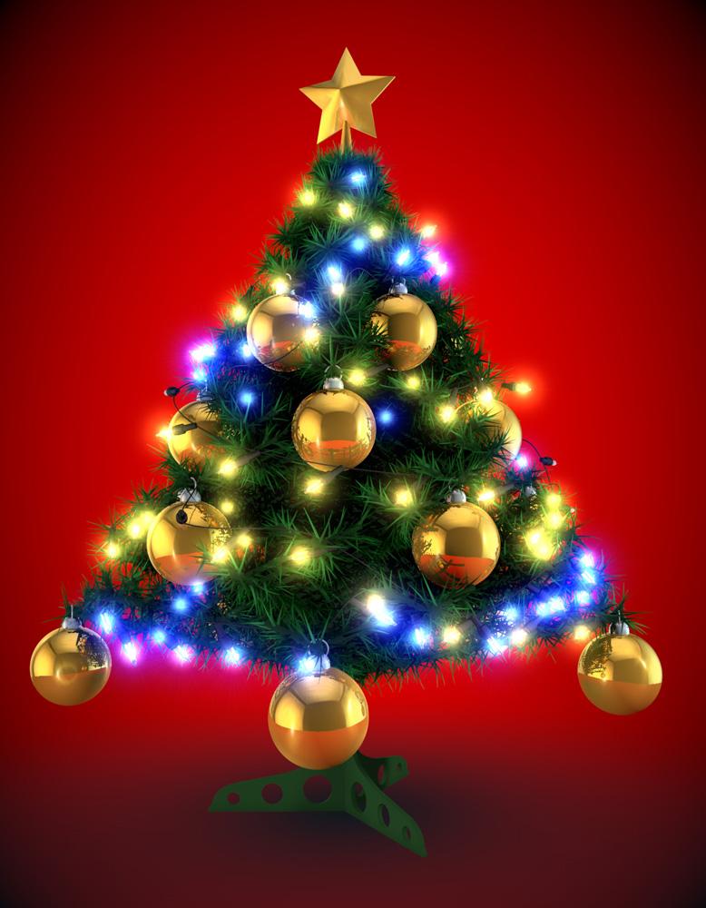 Arbol de navidad 3d davidmorenofilms - Tutorial arbol de navidad ...