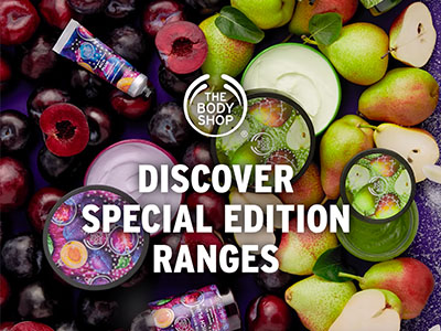 Seasonals The Body Shop